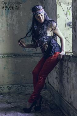 Model - Sarah Maria Paul