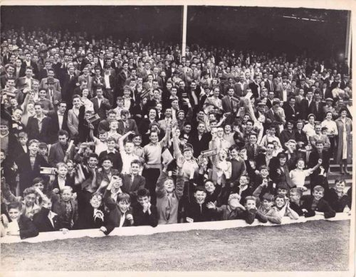 The Bycars End. Vale Park