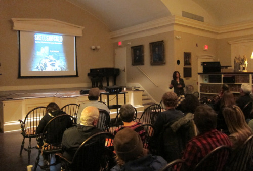 SHELLSHOCKED screening and discussion with Anamarija Frankic at Nantucket Atheneum, April 10, 2013