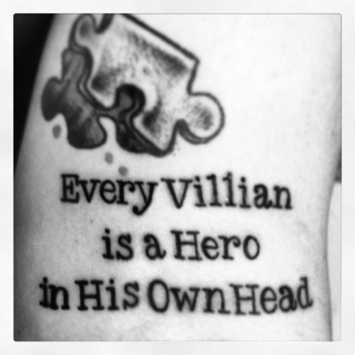 Every villain is a hero in his own head