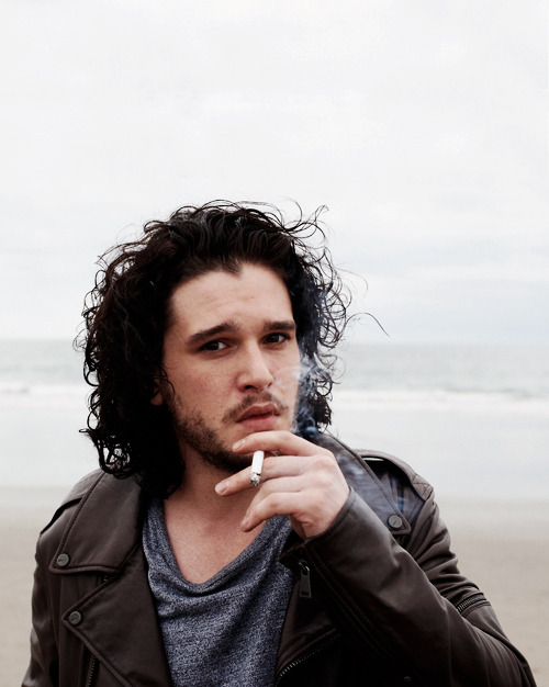 Kit Harington by Terry Richardson