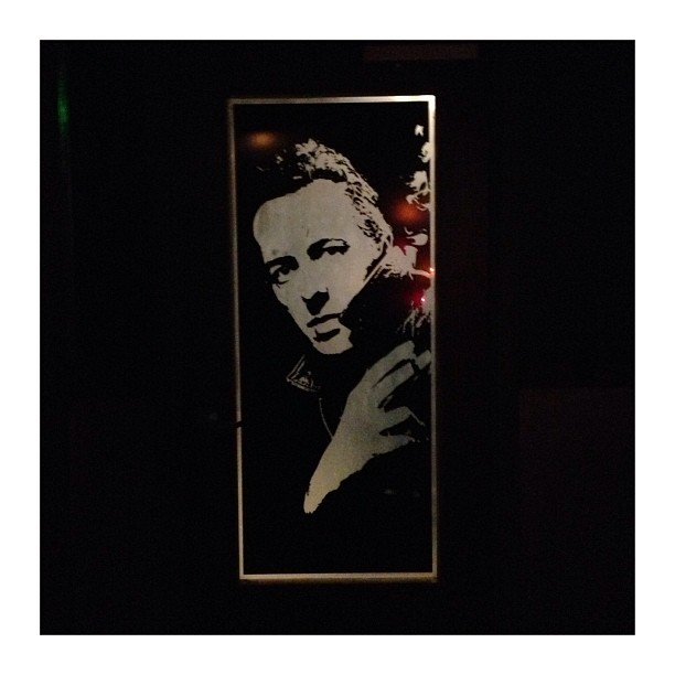 one of the greats #joestrummer  (at The High Watt)