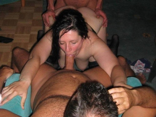Amateur gangbang galleries