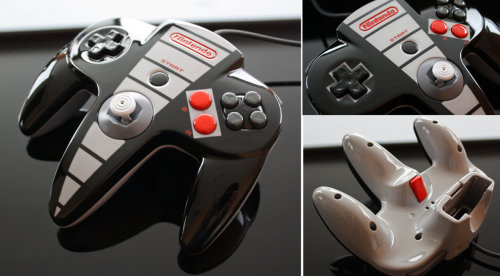 Custom NES-Themed N64 Controller Created by Zoki64 Check out a super close-up view of this sleek controller in the video below: