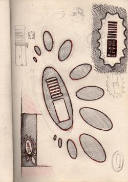 Sketchbook #39 BlackSeven design