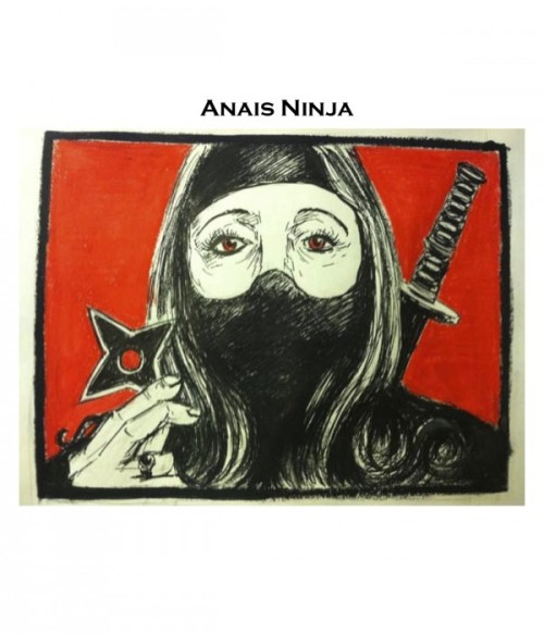 So great: Anaïs Nin = Anais Ninja in the latest batch of literary puns from The Rumpus