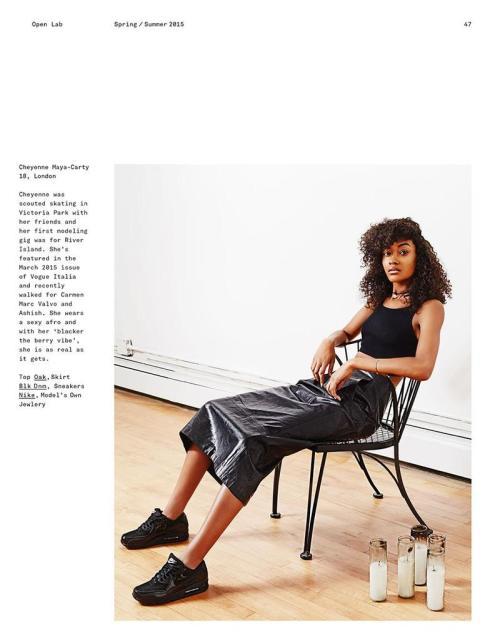 cheyenne carty cheyenne maya carty models female models editorial open lab magazine *