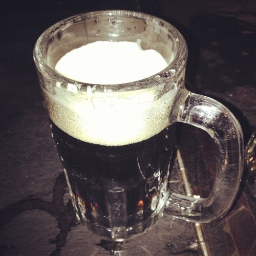 A round of dark.  (at McSorley's Old Ale House)