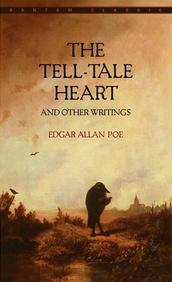 "Paranoid? Your answer, ""The Tell-Tale Heart."" 10 Novels to Solve All of Your Problems"