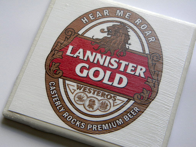 crisdias:  Game of Thrones Beer Coasters  I need these beers to be real.