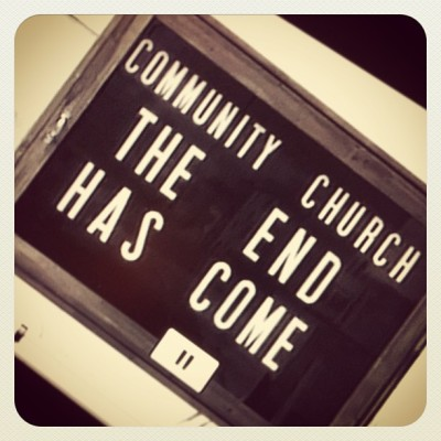 Community The Has Church End Come?