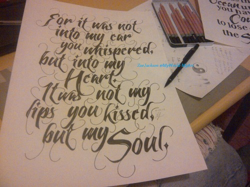 myworld-myart:  'For it was not into my ear you whispered, but into my heart. It was not my lips you kissed, but my soul.'