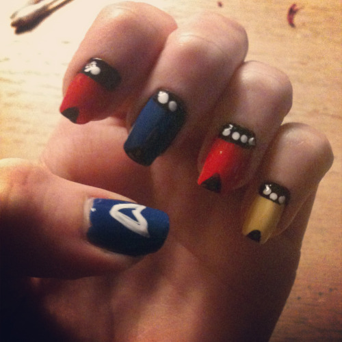 consultingnailartist:  Star Trek Nails!