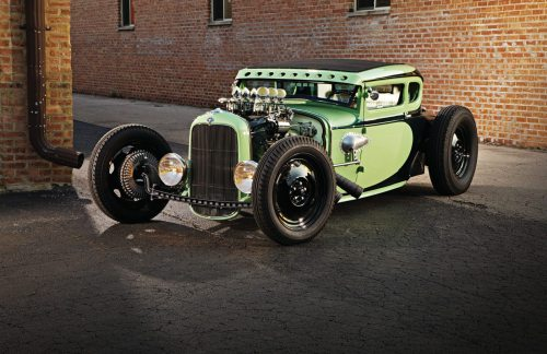mentallydefectiveandborntoolate:  1931 Ford 5-Window Coupe, Voodoo Larry's Voodoo Psychosis