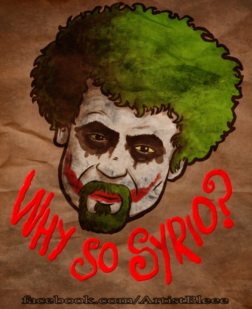 blimation:  Why so Syrio?redbubble and society6