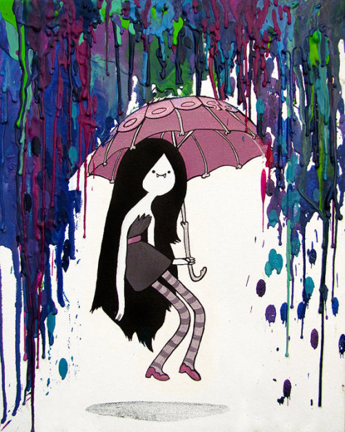 adventuretimeandahalf:  Marceline print available on etsy ]]>