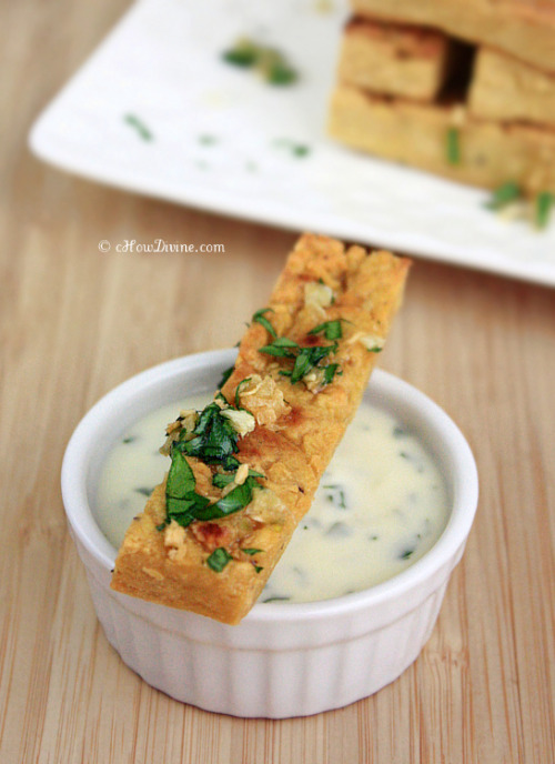 butterflygrace:  (via Chickpea Fries with Parsley Garlic Flakes | cHow Divine…)