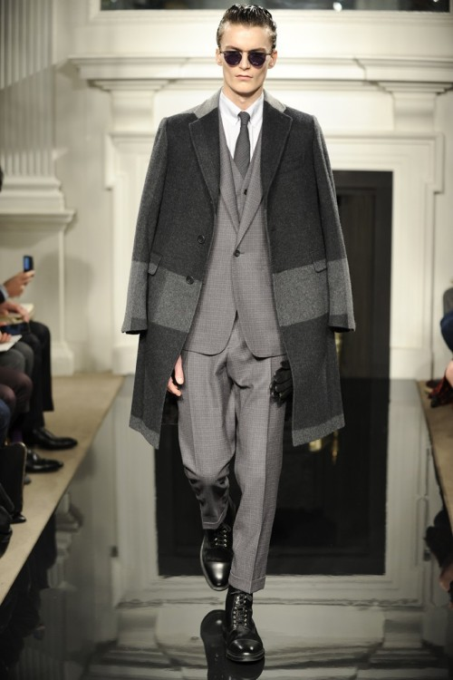 Hardy Amies Men's RTW Fall 2013