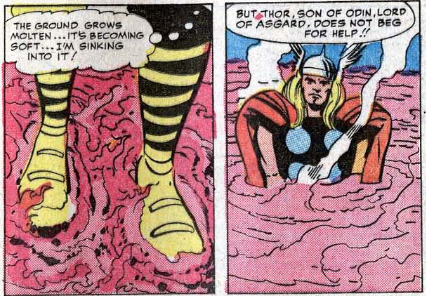 starkexpos:   Avengers (1963) #5  I have never laughed at a single panel so hard in my life.   This is the face for everything Thor.