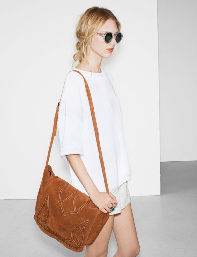 she-wore-what:  ZARA spring/summer 2013may lookbook