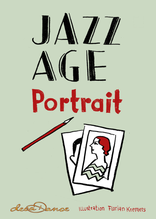 At the decaDance Ballroom next saturday I will offer live JAZZ AGE portraits.
