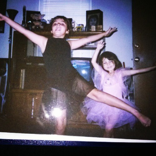#throwback #ballerinas #sisters #dance @faliciamissking