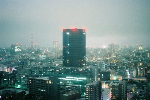 hiromitsu:  TOKYO snow town by puipuichic on Flickr.