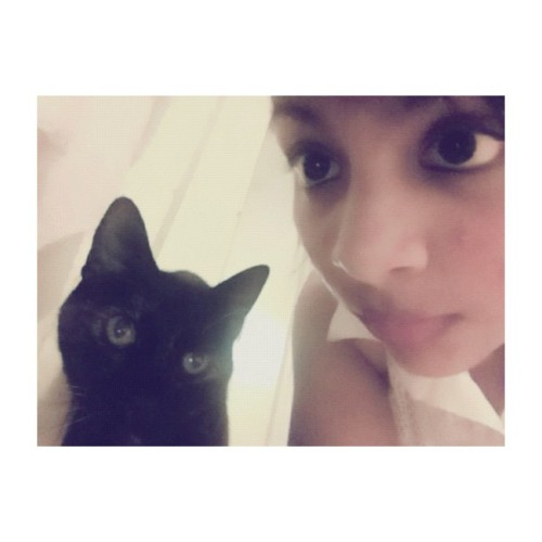 Sometime last year #tbt #me #kitty #cat #eyes #wow #lol #igers #igaddict #igdaily #cute #kawaii