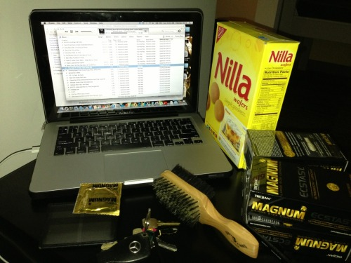 College Magnums Vanilla Wafers Mercedes Music Collection Section.80 Kendrick Lamar