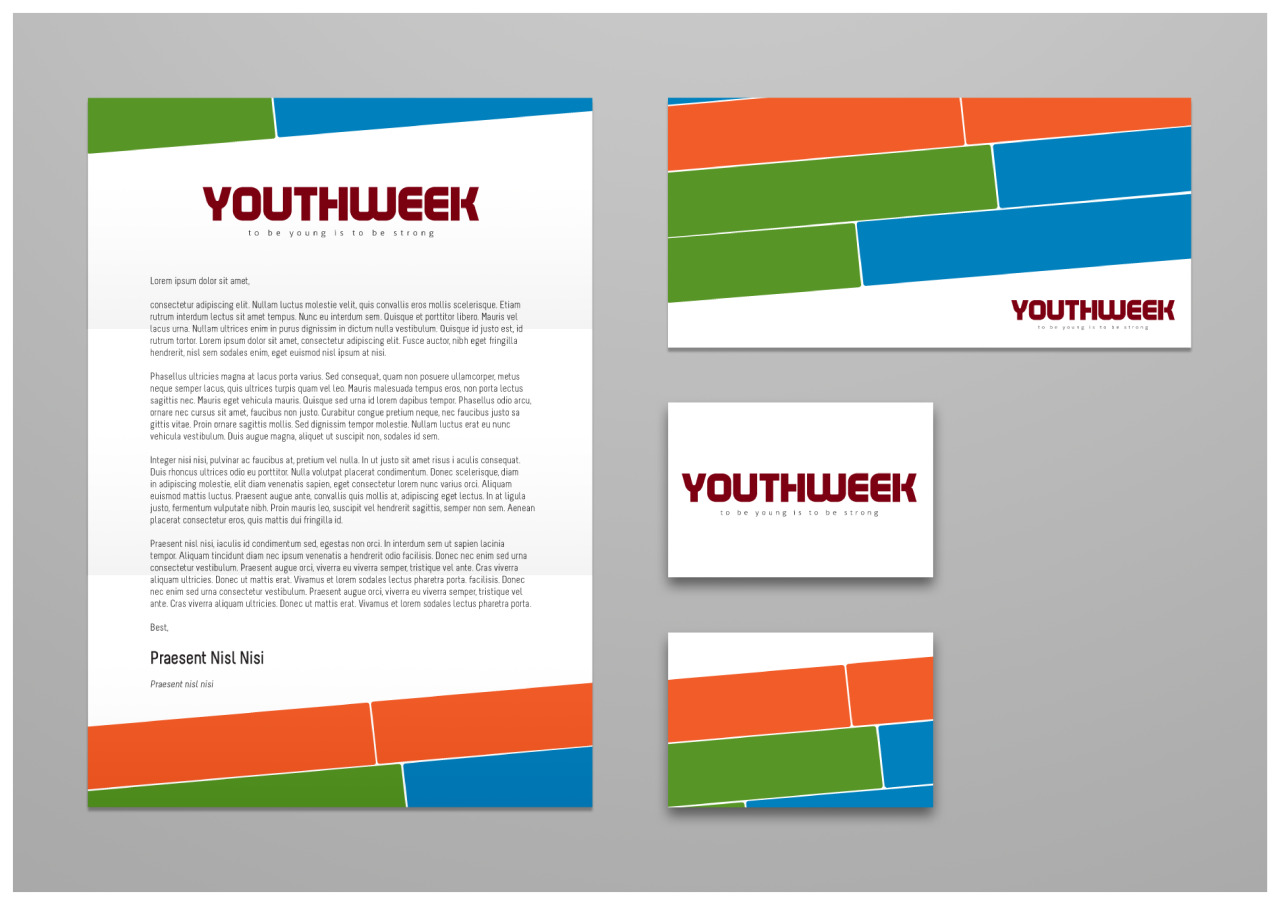 National Youth Week UK Stationary