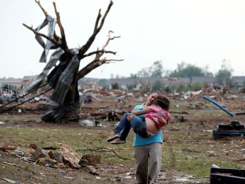 "How to help Oklahoma tornado victims If you're looking for ways to help residents of Oklahoma, ravaged by a monstrous tornado on Monday, the following relief organizations are working in the area: American Red Cross The American Red Cross has several shelters open in Oklahoma and Red Cross Emergency Response Vehicles have begun delivering hot meals throughout the affected areas. The Red Cross is also working to link loved ones in Moore who are OK through a website called Safe and Well. Text REDCROSS to 90999 to give $10 to American Red Cross Disaster Relief, donate online, or donate by phone at 1-800-RED CROSS. Salvation Army The Salvation Army is activating disaster response teams and mobile feeding units to help residents and rescuers in Moore, as well as in other locations in the Plains and the Midwest that were impacted by tornadoes. Donate online or text STORM to 80888 to contribute $10 to the Salvation Army's relief efforts or make a donation by phone at 1-800-SAL-ARMY. If you're sending a check make sure you put the words ""Oklahoma Tornado Relief"" on the check, and mail it to: The Salvation Army, P.O. Box 12600, Oklahoma City, OK. 73157. Operation USA Los Angeles-based international relief agency Operation USA announced it's providing emergency aid where needed to community-based health organizations across Oklahoma. Donate online, by phone at 1-800-678-7255, or by check made out to Operation USA, 7421 Beverly Blvd., PH, Los Angeles, CA 90036. You can also donate $10 by texting AID to 50555. Corporate donations of bulk quantities of disaster-appropriate supplies are also being requested. Oklahoma Baptist Disaster Relief Oklahoma Baptist Disaster Relief says it has deployed at least 80 volunteers to respond to severe weather in Oklahoma. Those interested in helping can make a tax-deductible donation to the BGCO's Disaster Relief ministry online or call (405) 942-3800. You may also send checks to: BGCO Attn: Disaster Relief 3800 N. May Ave. Oklahoma City, OK 73112. Samaritan's Purse Samaritan's Purse, which provided relief to residents of Moore after the devastating tornado in 1999, deployed two Disaster Relief Units from their North Carolina headquarters before dawn on Tuesday. One will be based in Moore, and the other in Shawnee. Samaritan's Purse is looking for volunteers to help with the relief effort. You can donate online or by phone at 1-800-528-1980. To give by mail, please send donations to: Samaritan's Purse, P.O. Box 3000, Boone, NC 28607-3000. Save the Children Save the Children is mobilizing staff to provide support, relief and recovery services to communities and families in Oklahoma. The organization is prepared to deploy their Child Friendly Space kits in shelters, creating safe play areas for kids. They are also ready to deploy infant and toddler hygiene materials to support young children displaced from their homes. Text TWISTER to 20222 to donate $10 to Save the Children and help the response effort. You can donate online or call 1-800-728-3843. Operation Blessing International Operation Blessing International, a Virginia-based humanitarian group, is deploying to Moore, after working on tornado relief in Granbury, Texas, following last week's storm there. A caravan of OBI emergency equipment was sent to Moore, including a construction unit, mobile command center, trucks full of tools and supplies, and a team of construction foremen. You can donate to the group online or donate by phone at 1-800-730-2537. see the article here, and watch the video."