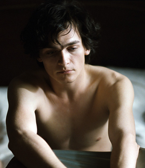 Shirtless Rupert Friend