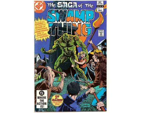 www.ComicBookQuest.com New weekly special The Saga of the Swamp Thing #1 (1982) Only $1.25 Only 4 available -   one week only Swamp Things Special Offer