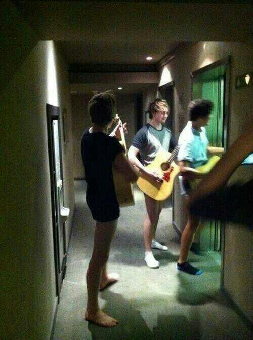 holynarrycrap:  harry with no pants on