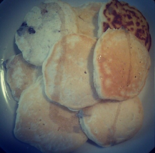 Used this recipe http://allrecipes.com/Recipe/Old-Fashioned-Pancakes/Detail.aspx and added some vanilla extract.