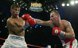 May 18, 2002: Mickey Ward defeated Arturo Gatti by majority decision in the 10th round. This was also the first in an epic trilogy between these two.