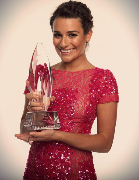onelovatodirection:  Lea Michele at the People's Choice Awards 2013 ! ♡ ♡
