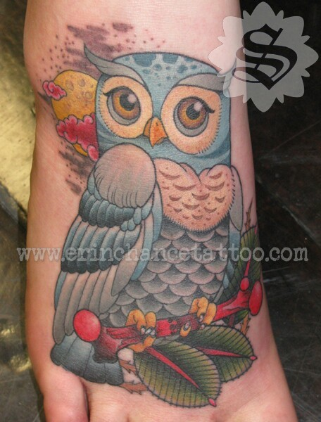 I did this tattoo on my friend Ami in 2009. It's on sites like tattoo donkey and pinterest with no credit and gets ripped off all the time. Just thought I'd put a watermarked photo out there.