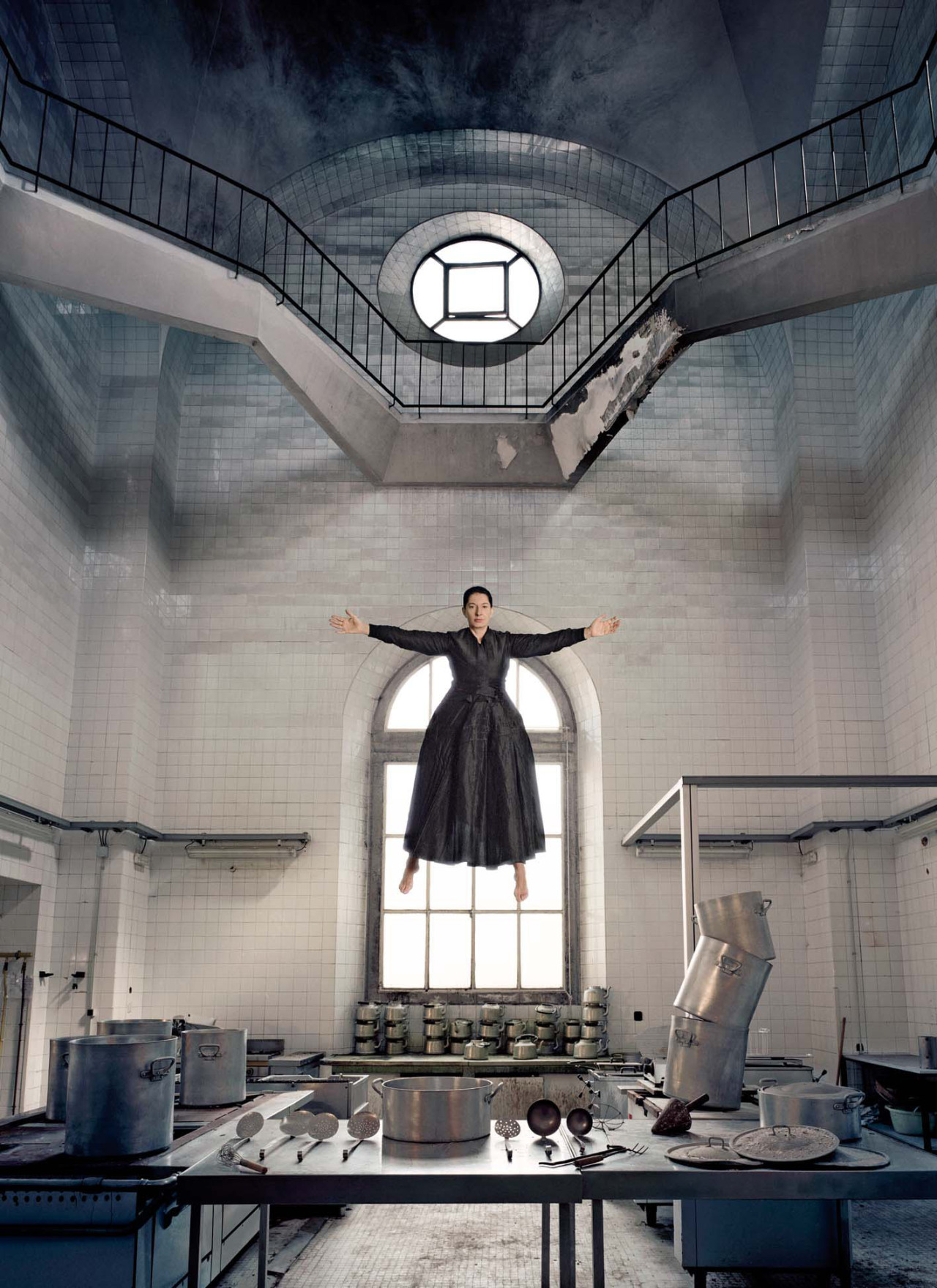 The Kitchen I—Homage to Saint Therese, 2009, pigment print by Marina Abramović Marina is bewitching.