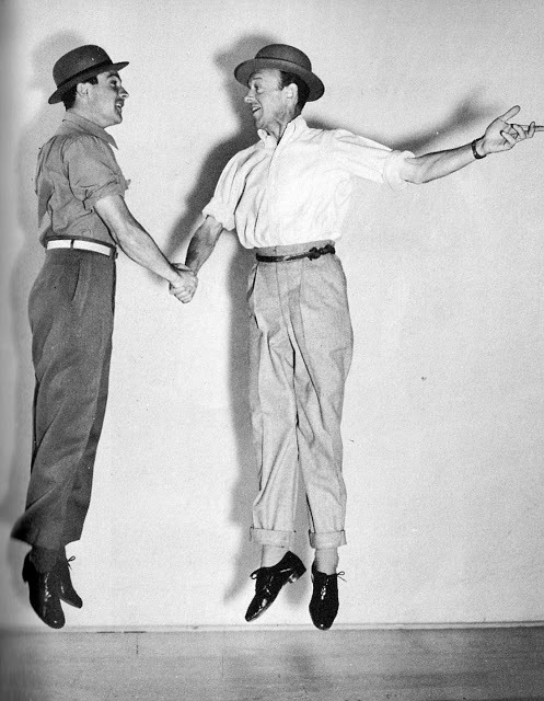 dancehistory:  Gene Kelly and Fred Astaire