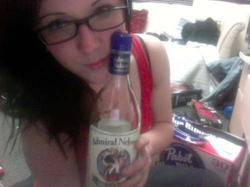 Admiral Nelson and I say hi.