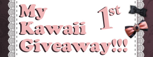 totemo-kawaii-ne:   This is my first giveaway!!! I am so excited for it! I do not have a reason for doing this, but that doesn't matter!!! v(=∩_∩=)ブイブイ!!  Just like always, there are rules you must follow: ♥ You have to be following ME~ ♥ You may reblog this and like it as much as you want! The more, the better! ♥ I will ship worldwide for free~!!! ♥ The winner will win the items listed above~ 1000+ kawaii sticker flakes! 20 kawaii pens (some with charms on top) 4 kawaii spiral notebooks (200 pages each) 50+ Rilakkuma memo pads and stationary 1 oversized Ulzzang grey star sweater (fits all) ♥ The giveaway ends in one month! (3 May, 2013!!!) I wish you good luck and may the best and luckiest reblogger win! ♪♪v(⌒o⌒)v♪♪イエーイ  (please don't delete the text above! ^ ^)  EDIT: THE GIVEAWAY WILL NOW END MAY 20, 2013!!!