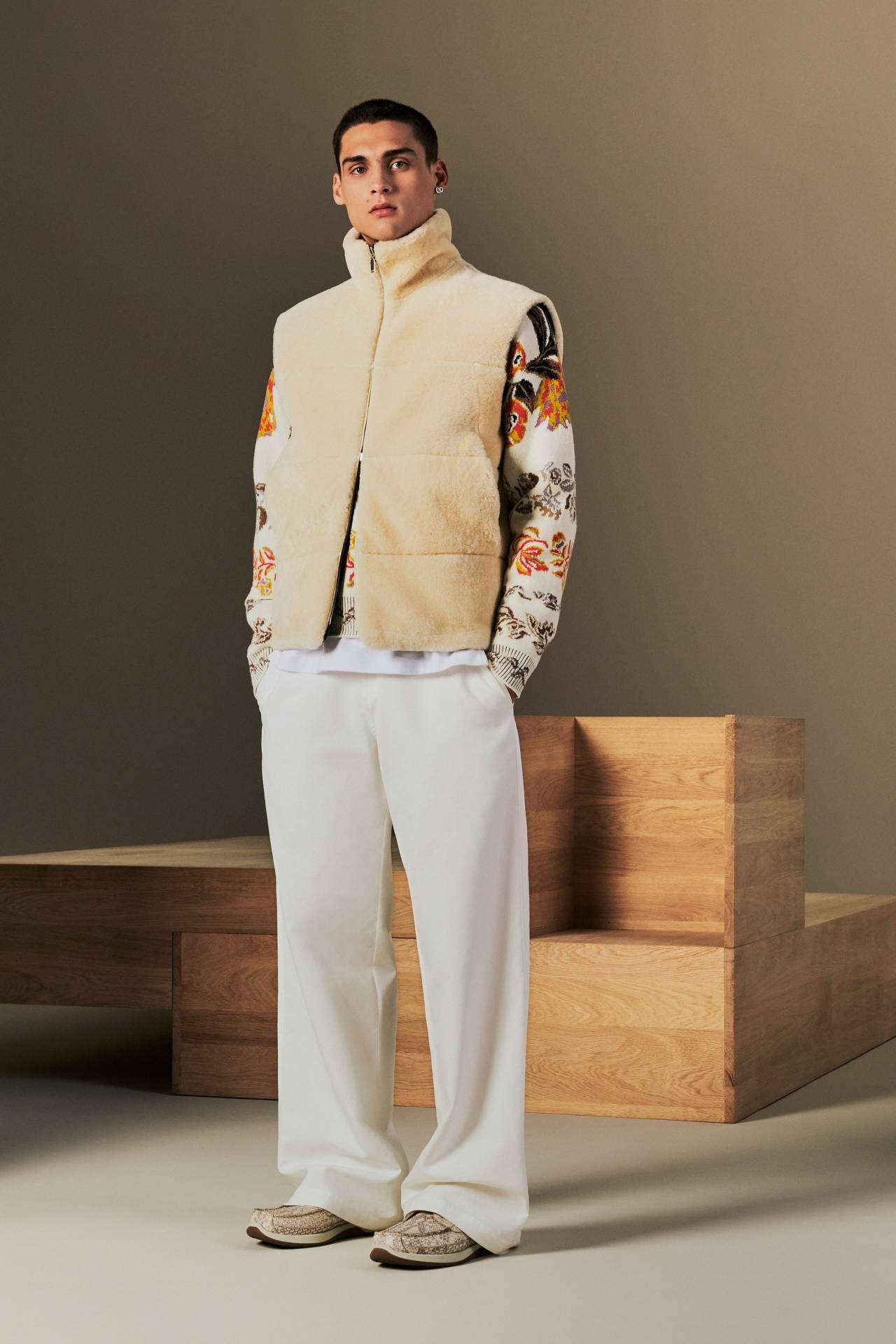 Outfit for Mashirao OjiroDior MenResort 2022 #mashirao ojiro#ojiro mashirao#my heroacademia #boku no hero academia #bnha fashion#dior men#menswear#tan#white