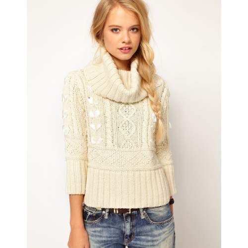 Denim Supply by Ralph Lauren sweater   ❤ liked on Polyvore (see more cable sweaters)
