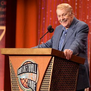 "nbaoffseason:  Dr. Jerry Buss (1933-2013)      via The LA Times: Jerry Buss, the longtime owner of the Lakers whose penchant for showmanship helped turn the game of basketball into ""Showtime"" and who led the team to 10 NBA championships, died Monday. He was 80.      A self-made millionaire who built his fortune in real estate, Buss bought the Lakers in 1979. He charted his successful course with marquee players Kareem Abdul-Jabbar, Magic Johnson, Kobe Bryant and Shaquille O'Neal, Hall of Fame coaches Pat Riley and Phil Jackson, celebrities sitting courtside and Laker Girls dancing during timeouts.      ""I really tried to create a Laker image, a distinct identity,"" Buss said. ""I mean, the Lakers are pretty damn Hollywood."""