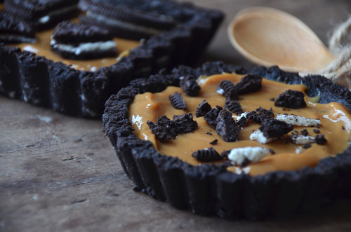 gastrogirl:  no-bake oreo tart in 3 ingredients.