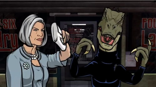 """brodoyouevenswift:Okay, so I just found out that Archer has an unaired """"original pilot"""" where they replaced Archer…withA FUCKING RAPTOR. The episode has the exact same plot as the first episode, but he's a raptor. He doesn't talk, he just makes raptor noises throughout the episode. It just might be singlehandedly best thing I've ever seen.Edit: Since some of you reblogging this have mentioned finding it, you can see it hereHaha &#8230. I didn&#8217t know people didn&#8217t know about this.Archer is great, my favorite alongaide bobs burgers &#8230. And maybe the single season of the oblongs (?) That my hubby introduced me to."""