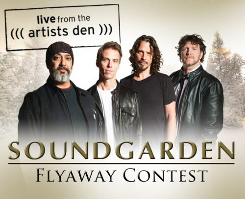 Win a trip to see Soundgarden live at the Wiltern Theatre in Los Angeles February 17. Enter here.