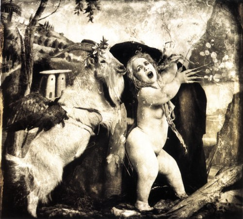 cavetocanvas:  Joel-Peter Witkin, Daphne and Apollo, Los Angeles, 1990