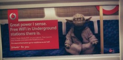 May the wifi be with you at London – View on Path.